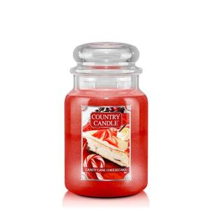 Candy Cane Cheesecake Giara grande Country Candle